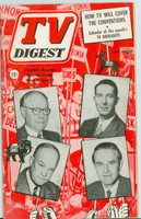 1952 TV Digest June 28 TV Convention Coverage  (40 pgs) Pennsylvania State edition Excellent  [Lt wear on cover, ow clean; label stamped on reverse]