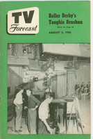 1950 TV Forecast August 5 Come to the (Chicago) Fair (32 pgs) Chicago edition Very Good to Excellent