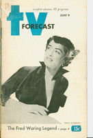 1951 TV Forecast June 9 Teresa Giorgian (48 pgs) Chicago edition Good to Very Good - No Mailing Label