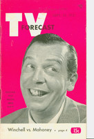 1951 TV Forecast September 15 Milton Berle (48 pgs) Chicago edition Very Good to Excellent