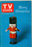 1965 TV Guide Dec 25 Christmas Eastern New England edition Excellent - No Mailing Label  [Toning along binding, contents fine]