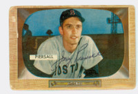 Jim Piersall AUTOGRAPH 1955 Bowman #16 Red Sox 