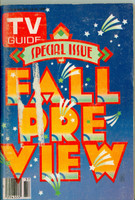 1980 TV Guide Sep 13 Fall Preview Detroit edition Very Good  [Scuffing and wear on cover; label removed; contents fine]