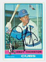 Andy Thornton AUTOGRAPH 1976 Topps #26 Cubs 
