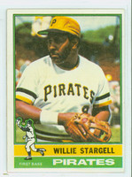 1976 Topps Baseball 270 Willie Stargell Pittsburgh Pirates Excellent