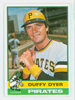 1976 Topps Baseball 88 Duffy Dyer Pittsburgh Pirates Very Good to Excellent