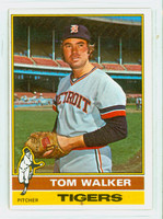 1976 Topps Baseball 186 Tom Walker Detroit Tigers Very Good to Excellent