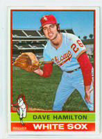 1976 Topps Baseball 237 Dave Hamilton Chicago White Sox Very Good to Excellent