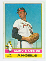 1976 Topps Baseball 207 Andy Hassler California Angels Very Good