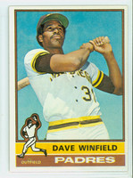 1976 Topps Baseball 160 Dave Winfield San Diego Padres Excellent to Mint