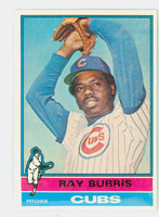 1976 Topps Baseball 51 Ray Burris Chicago Cubs Excellent to Mint