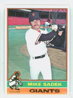 1976 Topps Baseball 234 Mike Sadek San Francisco Giants Excellent to Mint