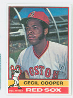 1976 Topps Baseball 78 Cecil Cooper Boston Red Sox Near-Mint to Mint