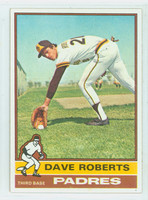 1976 Topps Baseball 107 Dave Roberts San Diego Padres Near-Mint to Mint