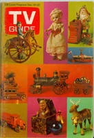 1970 TV Guide Dec 19 Christmas Kentucky edition Excellent - No Mailing Label  [Lt toning along binding; contents fine]