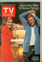 1974 TV Guide Jun 15 Happy Days (First Cover) Cleveland edition Very Good - No Mailing Label  [Loose at staples; scuffing and creasing on cover; contents fine]