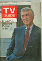 1971 TV Guide October 2 Jimmy Stewart Pittsburgh edition Very Good - No Mailing Label  [Lt wear and rust at staples; scuffing on cover; contents fine]