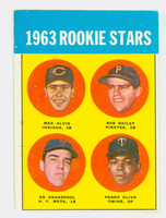 1963 Topps Baseball 228 Rookie Stars  [SKU:Y63_T63BB_228a_4vge2]  Very Good to Excellent