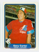 1982 Fleer Baseball 185 Gary Carter Montreal Expos Near-Mint to Mint