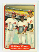 1982 Fleer Baseball 641 Phillies Finest Near-Mint to Mint