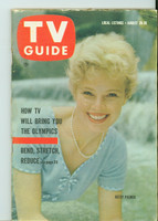 1960 TV Guide Aug 20 Betsy Palmer Chicago edition Very Good - No Mailing Label  [Lt wear on cover, tear on back 2 pgs but present]