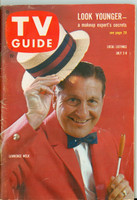 1960 TV Guide Jul 2 Lawrence Welk Chicago edition Excellent - No Mailing Label  [Lt wear and scuffing on cover; contents fine]