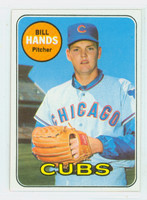 1969 Topps Baseball 115 Bill Hands Chicago Cubs Near-Mint