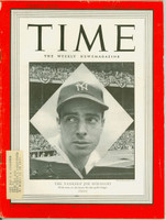 Time Magazine October 4, 1948 Joe DiMaggio of the New York Yankees Excellent [Lt wear and creasing on cover, sl fraying on binding; contents fine (114 pgs)]