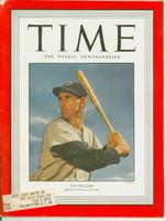 Time Magazine April 10, 1950 Ted Williams of the Boston Red Sox Very Good to Excellent [Wear along binding, sl paper loss on top edge of corner, ow clean (106 pgs)]