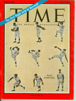 Time Magazine June 10, 1966 Juan Marichal of the San Francisco Giants Near-Mint [Very clean, lt wear on cover - Complete Magazine (124 pgs)]