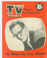 1954 TV Weekly Jun 14 Robert Q. Lewis (16 pages) Salt Lake City edition Excellent to Mint - No Mailing Label  [Very lt wear, ow very clean]