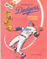 1967 Dodgers Yearbook Excellent