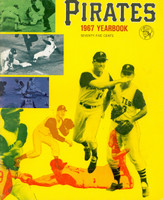 1967 Pirates Yearbook Near-Mint