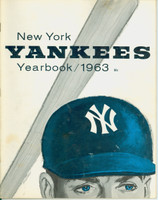 1963 Yankees Yearbook Jay (AL Pennant Winning Team) Very Good to Excellent Lt wear on cover, contents fine