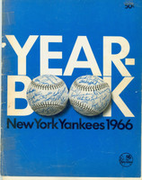 1966 Yankees Yearbook Fair to Good Cover was detached, taped back into place; contents fine