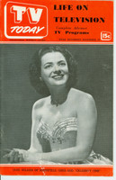 1951 TV TODAY November 10 Jane Wilson (24 pg) Detroit edition Very Good  [Wear on both covers; label on reverse, contents fine]
