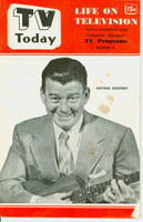 1952 TV TODAY March 15 Arthur Godfrey (32 pg) Detroit edition Good to Very Good - No Mailing Label  [Wear and staining on cover, contents fine]