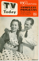 1952 TV TODAY August 9 Bess Myerson (24 pg) Detroit edition Excellent - No Mailing Label  [Lt wear on cover, contents fine]