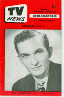 1952 TV News May 2 Dave Hamilton Indiana edition Very Good  [Vertical crease, wear and scuffing on cover; contents fine]