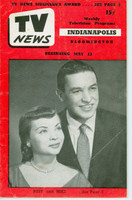 1952 TV News May 23 Mike Wallace and Buff Cobb Indiana edition Good to Very Good  [Wear and creasing on cover; contents fine]