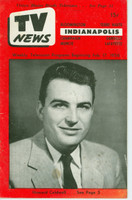 1956 TV News February 17 Howard Caldwell Indiana edition Very Good to Excellent  [Wear and lt staining on cover; contents fine]