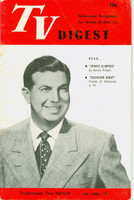 1950 TV DIGEST December 16 Toastmaster Don McNeill (32 pgs) Philadelphia edition Very Good to Excellent  [Wear on cover, sl creasing; contents fine]
