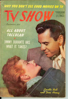 1952 TV SHOW September 1 Lucille Ball and Desi Arnaz (132 pg) No Region edition Very Good - No Mailing Label  [Wear and creasing on covers, contents fine; this is a national digest]