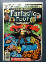 Fantastic Four #14 Annual - #14 Cat's Paw! Ft; Sandman, Salem's Seven Dec 79 Very Good