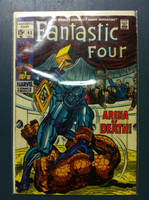 Fantastic Four #93 At the Mercy of Torgo! Dec 69 Good