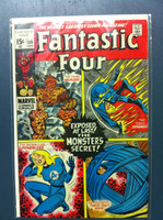 Fantastic Four #106 The Monster's Secret Jan 71 Very Good