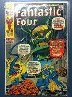 Fantastic Four #108 The Monstrous Mystery of the Nega-Man Mar 71 Fine to Very Fine