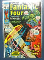 Fantastic Four #109 Death in the Negative Zone Apr 71 Fine