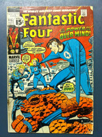 Fantastic Four #115 The Secret of the Eternals Oct 71 Good