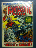 Fantastic Four #121 The Mysterious Mind-Blowing Secret of Gabriel Apr 72 Very Good to Excellent